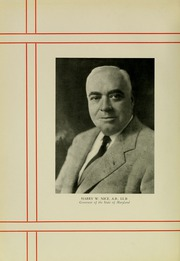 Page 14, 1935 Edition, University of Maryland School of Pharmacy - Terra Mariae Yearbook (Baltimore, MD) online yearbook collection