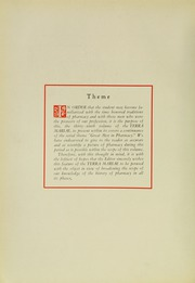 Page 16, 1935 Edition, University of Maryland School of Pharmacy - Terra Mariae Yearbook (Baltimore, MD) online yearbook collection