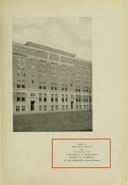 Page 9, 1935 Edition, University of Maryland School of Pharmacy - Terra Mariae Yearbook (Baltimore, MD) online yearbook collection
