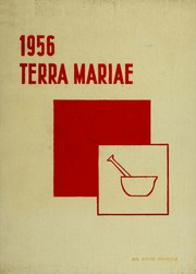 Page 1, 1956 Edition, University of Maryland School of Pharmacy - Terra Mariae Yearbook (Baltimore, MD) online yearbook collection