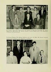Page 10, 1956 Edition, University of Maryland School of Pharmacy - Terra Mariae Yearbook (Baltimore, MD) online yearbook collection