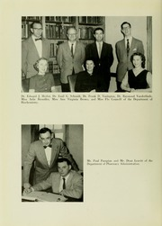 Page 12, 1956 Edition, University of Maryland School of Pharmacy - Terra Mariae Yearbook (Baltimore, MD) online yearbook collection