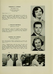 Page 17, 1956 Edition, University of Maryland School of Pharmacy - Terra Mariae Yearbook (Baltimore, MD) online yearbook collection