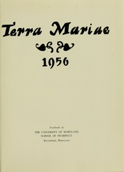 Page 5, 1956 Edition, University of Maryland School of Pharmacy - Terra Mariae Yearbook (Baltimore, MD) online yearbook collection