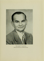 Page 7, 1956 Edition, University of Maryland School of Pharmacy - Terra Mariae Yearbook (Baltimore, MD) online yearbook collection