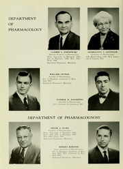 Page 14, 1958 Edition, University of Maryland School of Pharmacy - Terra Mariae Yearbook (Baltimore, MD) online yearbook collection