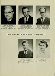 Page 17, 1958 Edition, University of Maryland School of Pharmacy - Terra Mariae Yearbook (Baltimore, MD) online yearbook collection