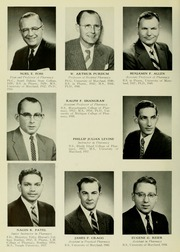 Page 12, 1959 Edition, University of Maryland School of Pharmacy - Terra Mariae Yearbook (Baltimore, MD) online yearbook collection