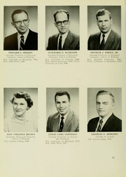 Page 16, 1959 Edition, University of Maryland School of Pharmacy - Terra Mariae Yearbook (Baltimore, MD) online yearbook collection