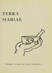 Page 5, 1959 Edition, University of Maryland School of Pharmacy - Terra Mariae Yearbook (Baltimore, MD) online yearbook collection