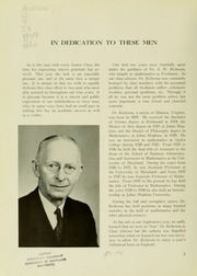 Page 6, 1959 Edition, University of Maryland School of Pharmacy - Terra Mariae Yearbook (Baltimore, MD) online yearbook collection