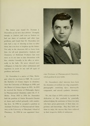 Page 7, 1959 Edition, University of Maryland School of Pharmacy - Terra Mariae Yearbook (Baltimore, MD) online yearbook collection