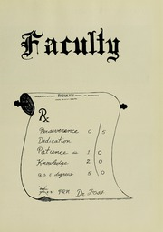 Page 11, 1960 Edition, University of Maryland School of Pharmacy - Terra Mariae Yearbook (Baltimore, MD) online yearbook collection