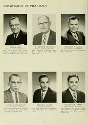 Page 12, 1960 Edition, University of Maryland School of Pharmacy - Terra Mariae Yearbook (Baltimore, MD) online yearbook collection
