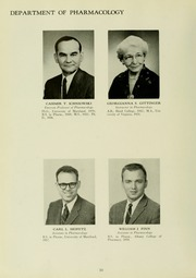 Page 14, 1960 Edition, University of Maryland School of Pharmacy - Terra Mariae Yearbook (Baltimore, MD) online yearbook collection