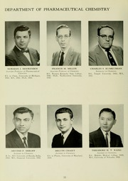 Page 16, 1960 Edition, University of Maryland School of Pharmacy - Terra Mariae Yearbook (Baltimore, MD) online yearbook collection
