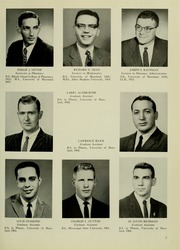 Page 11, 1963 Edition, University of Maryland School of Pharmacy - Terra Mariae Yearbook (Baltimore, MD) online yearbook collection