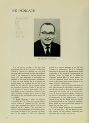 Page 6, 1963 Edition, University of Maryland School of Pharmacy - Terra Mariae Yearbook (Baltimore, MD) online yearbook collection