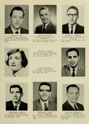 Page 11, 1967 Edition, University of Maryland School of Pharmacy - Terra Mariae Yearbook (Baltimore, MD) online yearbook collection