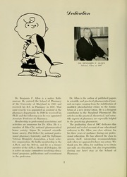 Page 6, 1967 Edition, University of Maryland School of Pharmacy - Terra Mariae Yearbook (Baltimore, MD) online yearbook collection