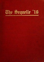 Page 1, 1916 Edition, Clarion University of Pennsylvania - Sequelle Yearbook (Clarion, PA) online yearbook collection