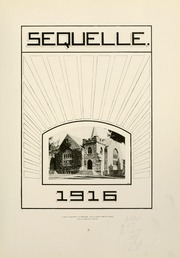 Page 7, 1916 Edition, Clarion University of Pennsylvania - Sequelle Yearbook (Clarion, PA) online yearbook collection