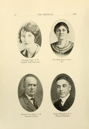 Page 16, 1926 Edition, Clarion University of Pennsylvania - Sequelle Yearbook (Clarion, PA) online yearbook collection