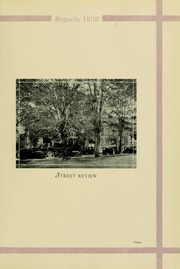 Page 15, 1930 Edition, Clarion University of Pennsylvania - Sequelle Yearbook (Clarion, PA) online yearbook collection