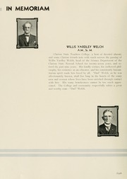 Page 12, 1935 Edition, Clarion University of Pennsylvania - Sequelle Yearbook (Clarion, PA) online yearbook collection