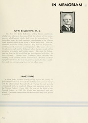 Page 13, 1935 Edition, Clarion University of Pennsylvania - Sequelle Yearbook (Clarion, PA) online yearbook collection