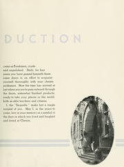 Page 9, 1935 Edition, Clarion University of Pennsylvania - Sequelle Yearbook (Clarion, PA) online yearbook collection