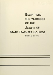 Page 7, 1939 Edition, Clarion University of Pennsylvania - Sequelle Yearbook (Clarion, PA) online yearbook collection