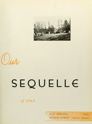 Page 11, 1944 Edition, Clarion University of Pennsylvania - Sequelle Yearbook (Clarion, PA) online yearbook collection