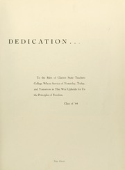 Page 15, 1944 Edition, Clarion University of Pennsylvania - Sequelle Yearbook (Clarion, PA) online yearbook collection