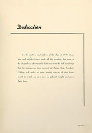 Page 9, 1946 Edition, Clarion University of Pennsylvania - Sequelle Yearbook (Clarion, PA) online yearbook collection