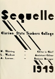 Page 5, 1949 Edition, Clarion University of Pennsylvania - Sequelle Yearbook (Clarion, PA) online yearbook collection