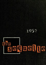 1959 Edition, Clarion University of Pennsylvania - Sequelle Yearbook (Clarion, PA)