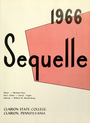 Page 5, 1966 Edition, Clarion University of Pennsylvania - Sequelle Yearbook (Clarion, PA) online yearbook collection