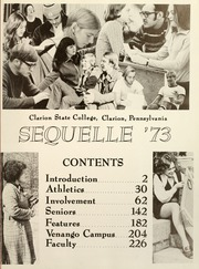Page 5, 1973 Edition, Clarion University of Pennsylvania - Sequelle Yearbook (Clarion, PA) online yearbook collection
