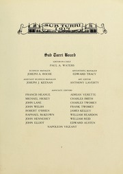 Page 13, 1917 Edition, Boston College - Sub Turri Yearbook (Boston, MA) online yearbook collection
