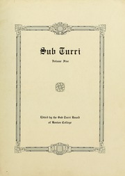 Page 7, 1917 Edition, Boston College - Sub Turri Yearbook (Boston, MA) online yearbook collection