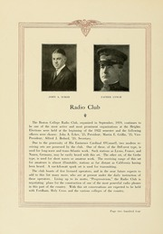 Page 210, 1922 Edition, Boston College - Sub Turri Yearbook (Boston, MA) online yearbook collection