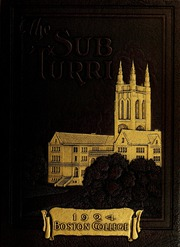 Boston College - Sub Turri Yearbook (Boston, MA) online yearbook collection, 1924 Edition, Page 1