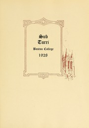 Page 9, 1928 Edition, Boston College - Sub Turri Yearbook (Boston, MA) online yearbook collection