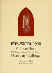 Page 11, 1930 Edition, Boston College - Sub Turri Yearbook (Boston, MA) online yearbook collection