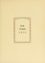 Page 9, 1930 Edition, Boston College - Sub Turri Yearbook (Boston, MA) online yearbook collection