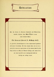 Page 11, 1934 Edition, Boston College - Sub Turri Yearbook (Boston, MA) online yearbook collection