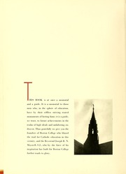 Page 12, 1938 Edition, Boston College - Sub Turri Yearbook (Boston, MA) online yearbook collection