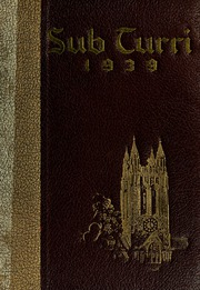 Boston College - Sub Turri Yearbook (Boston, MA) online yearbook collection, 1939 Edition, Page 1
