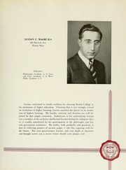 Page 187, 1941 Edition, Boston College - Sub Turri Yearbook (Boston, MA) online yearbook collection